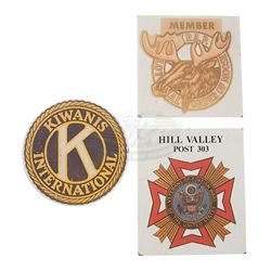Back To The Future - Welcome To Hill Valley Sign Emblems