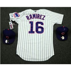 Authentic Chicago Cubs Aramis Ramirez Jersey and 2 Hats