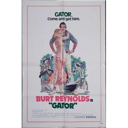 Gator Movie Poster Burt Reynolds 1976