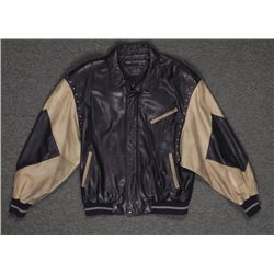 Marc Buchanan Pelle Pelle Soda Club Blck Leather Jacket