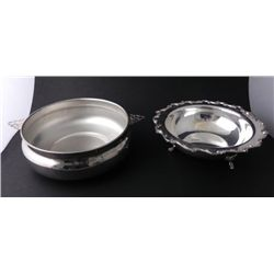 2 Silverplated Serving Bowls Sheffield Webster & Wilcox