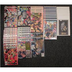 49 X-MEN & Wolverine Comics Dealer Lot: 2099. Prime