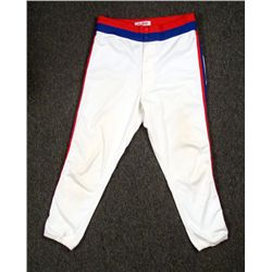 1988 Game Worn Chicago Cubs Rawlings Road Pants