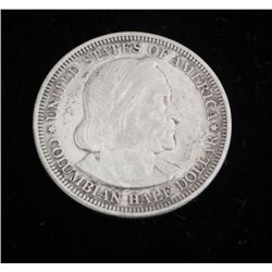 1893 Columbian Exposition High Grade Silver Half Dollar