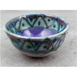 Earthworks Original Pottery Bowl Barbados Signed