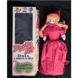 Dippity Flip Doll Red Riding Hood Grandma & Wolf in Box