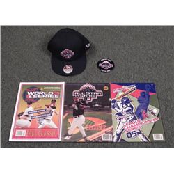 5 Pc Chicago White Sox All Star 3D Program, Hat, Button