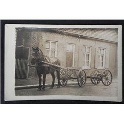 Horse & Cart Antique Real Photo Postcard RPPC