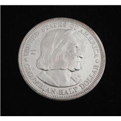 1892 Columbian Exposition Vry Hi Grd Silver Half Dollar