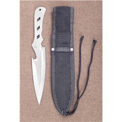 THROWING KNIFE & CASE-STAINLESS STEEL- CUSTOM DESIGN