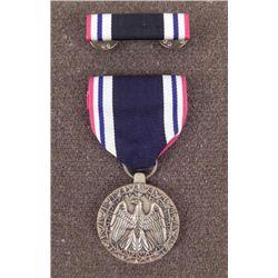 US MILITARY SOLDIER PRISONER OF WAR MEDAL & RIBBON BAR