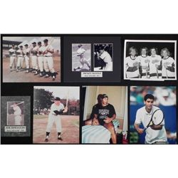 7 Photos of Olympians and NY Yankees Hall of Famers