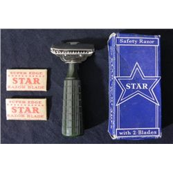 1930'S STAR SAFETY RAZOR -MIB-