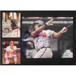 3 Signed Baseball Photos: Ron Kittle,Wayne Granger