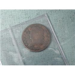 1829 Half Cent Classic Head - Good Detail, Sealed