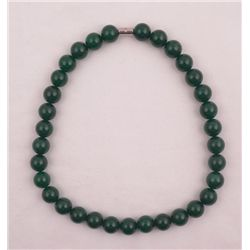 BEAUTIFUL 631 CTTW JADE NECKLACE