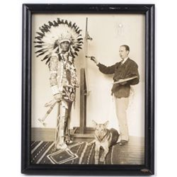 1920's Langdon Kihn Yakima Indian Photograph