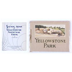 Yellowstone Park Souvenir Books
