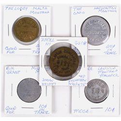 Montana Trade Tokens (5)