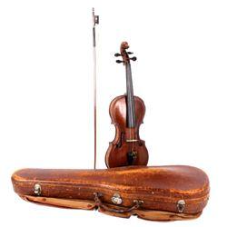 1890's Violin & Case