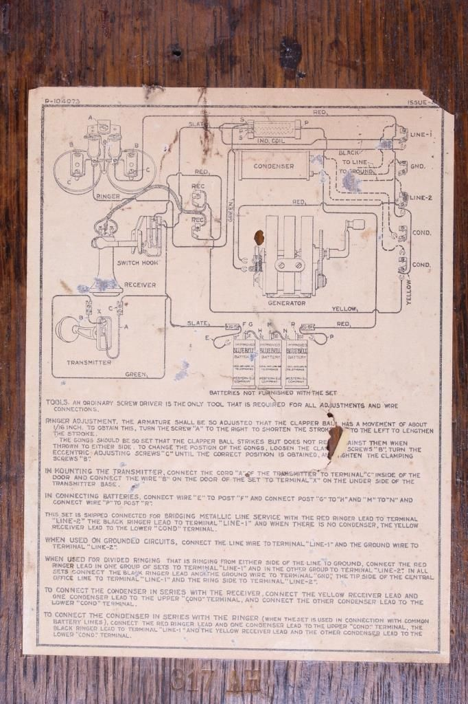 1907-1920's Western Electric Model 317 Wall Phone on western light wiring diagram, general electric wiring diagram, western electric schematic diagram, space electric wiring diagram, western electric lighting, western electric speaker, franklin electric wiring diagram, western electric radio, western star, western electric capacitor,