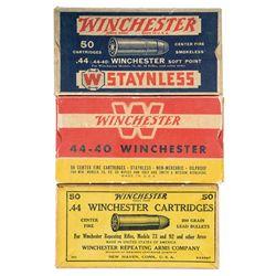 Vintage Winchester Boxed Rifle Ammunition