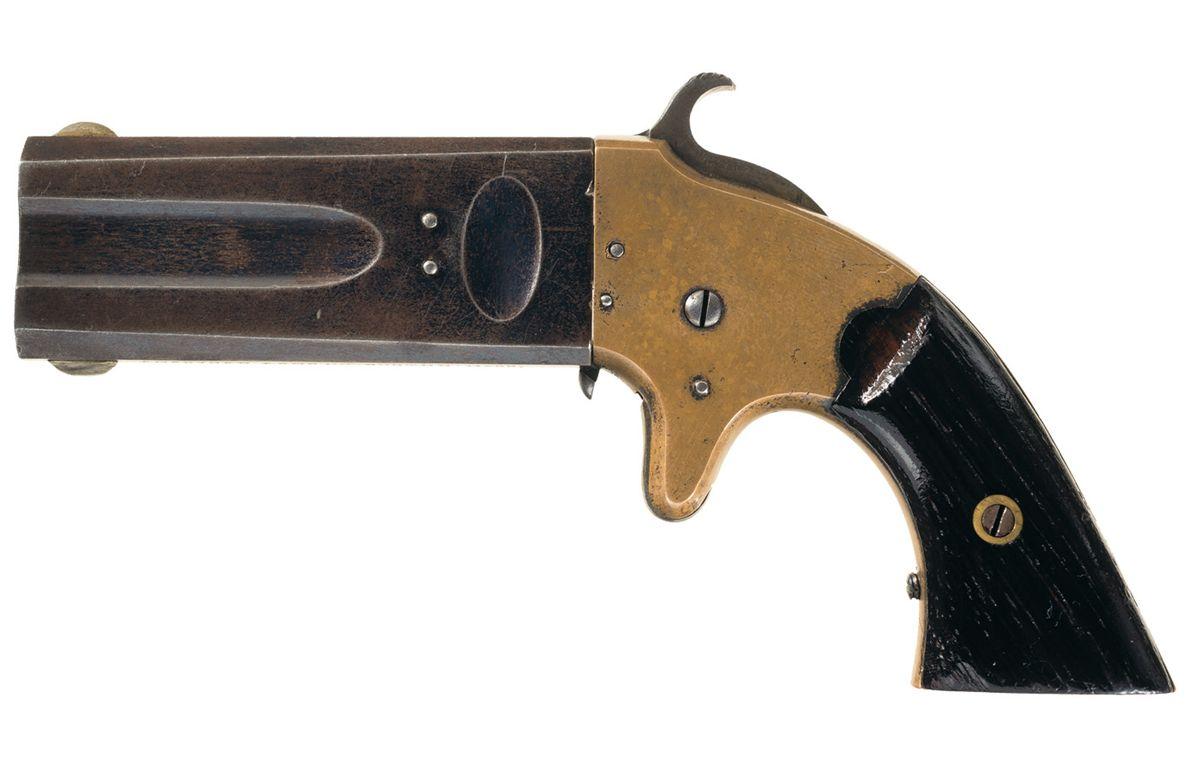 American Arms Wheeler Patent 32/22 Double Barrel Pocket Pistol