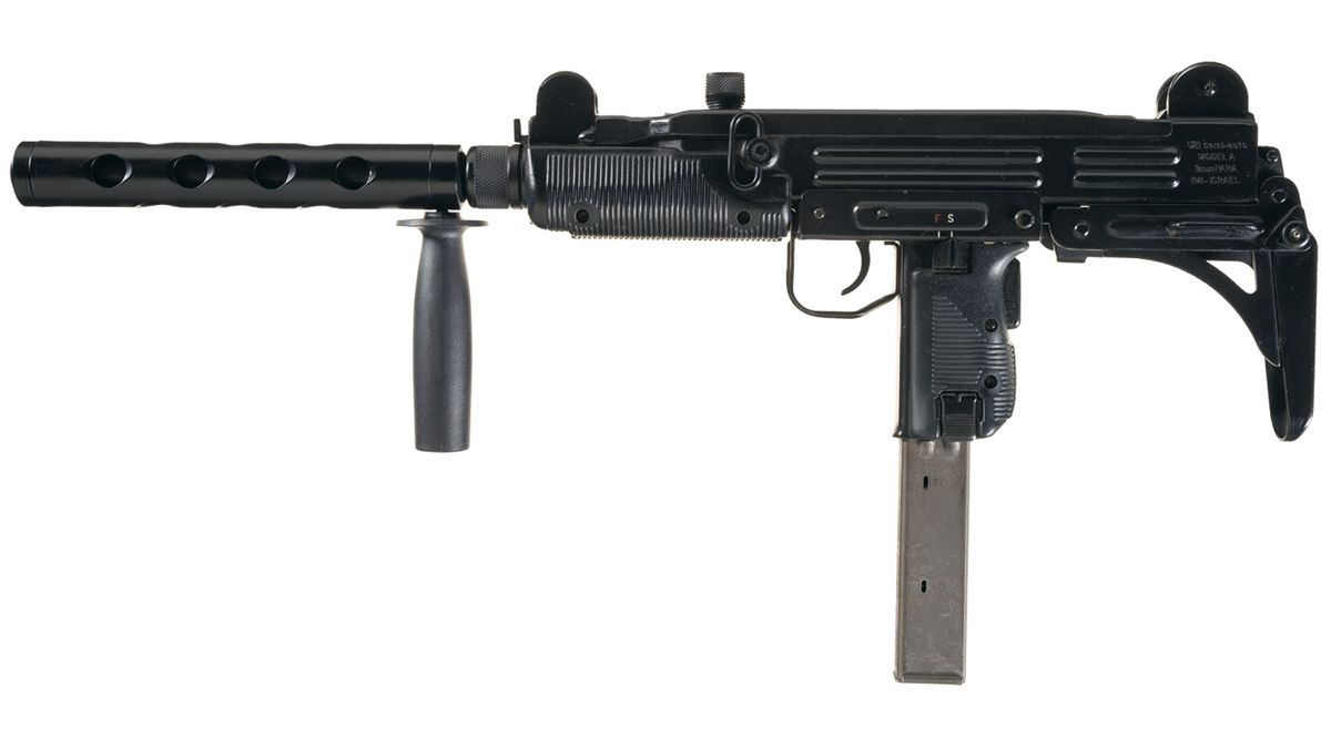 Desirable Israeli Military Industries UZI Model A Semi-Automatic Carbine