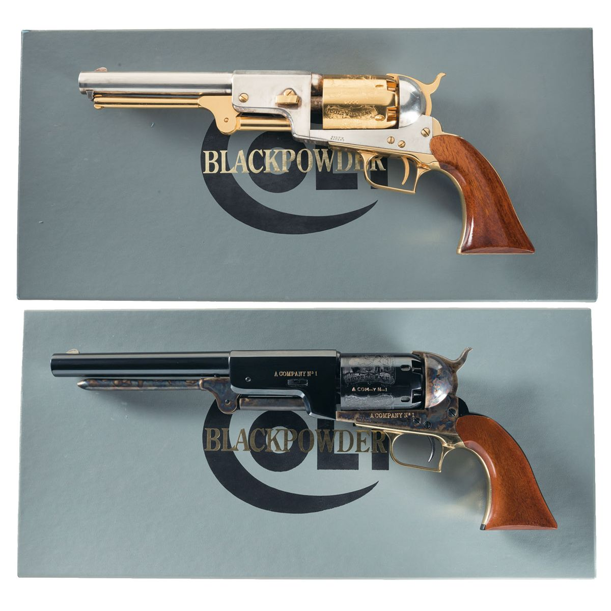 Collector's Lot of Two Boxed Colt Signature Series Percussion Revolvers -A)  Colt Signature Series Ma