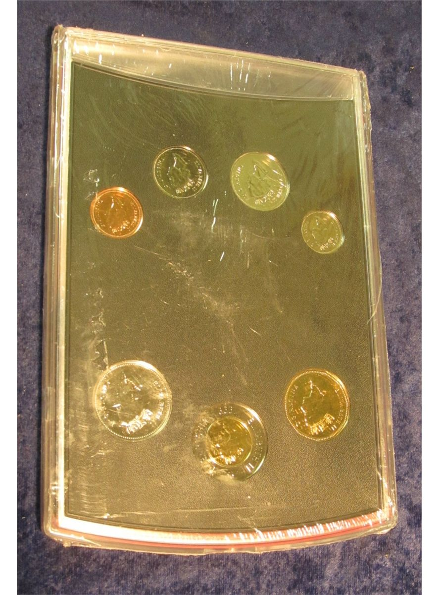 Canada 1999 Oh Uncirculated Coin Set Royal Canadian Mint