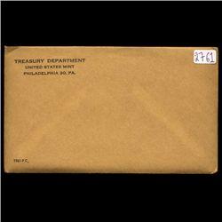 1961 Scarce Unopened Envelope Proof Set  (COI-002761E)