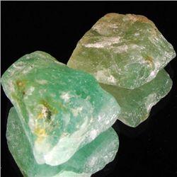 146.95ct Lime Green Natural Fluorite Rough (GEM-003863)