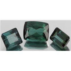 3.5ct Teal Blue Tourmaline Emerald Cut Parcel (GEM-055809)