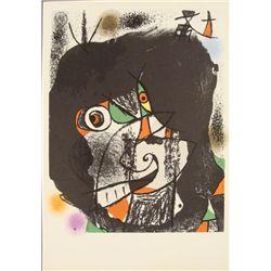 Joan Miro : Revolution I Abstract Art Print