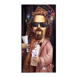 Leslie Ditto Lebowski Signed and Numbered Giclee