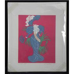 Robert Indiana Signed Pop Art Print Lillian Russell