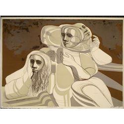 Moses De Leon Arnold Belkin Sign Art Print