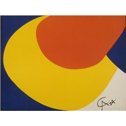 Alexander Calder : Convection Braniff Airlines Print