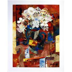 James Denmark: Cut Flowers Signed Artist Proof Giclee