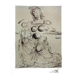 Salvador Dali Disintergrating Mother and Child Print