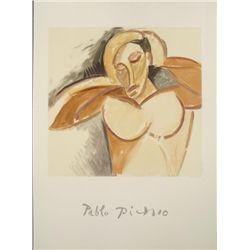 Pablo Picasso : La Demoiselle d'Avignon Art Print