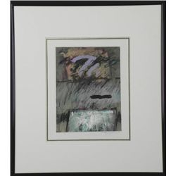 C. Scott Snyder Original Abstract Monoprint Framed