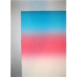 Larry Bell Signed LE Art Print Barcelona 2