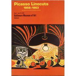 Pablo Picasso : Linocuts Art Print