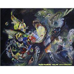 Wassily Kandinsky Trube 1917 Art Print