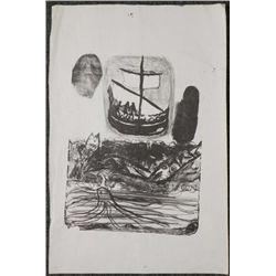 Betty Heredia Orig Art Print -Childrens Sea Adventure