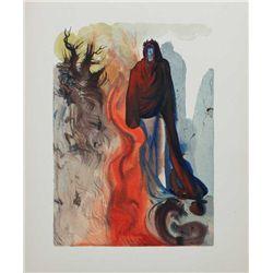 Dali Divine Comedy Inferno Print The Apparition of Dis