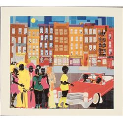Willie Torbert : Game On Urban Art Print