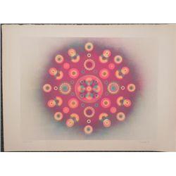 Tom Norton Signed Artist Proof Print Op Art -1969