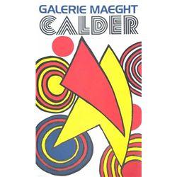 Alexander Calder Art Print Triangles & Spirals Mourlot